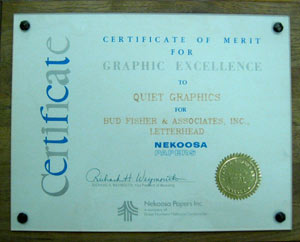 Nekoosa-Cert-GraphicsAward-300x242