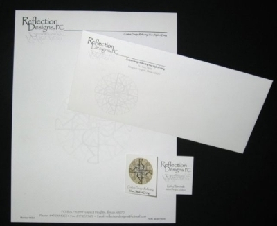 Reflection Design Stationery Package