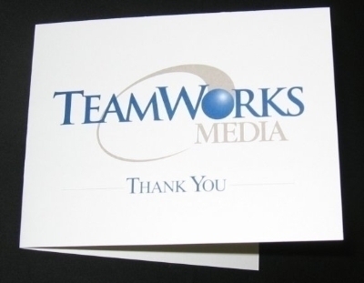 TeamWorks Thank You card