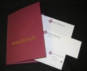 Folder Stationery Package