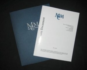MMC Booklet with Foil Cover
