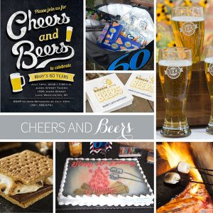 Cheers and Beers Party Inspiration Board