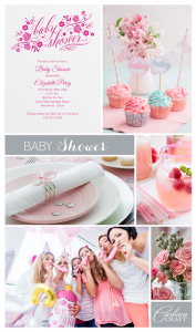Baby Shower Inspiration Board CC