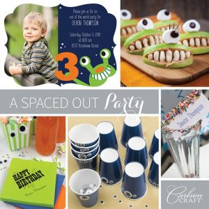 Children's-Spaced Out Party Inspiration Board